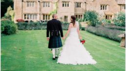 Rachel & Dave in the beautiful Charingworth Manor Hotel 79