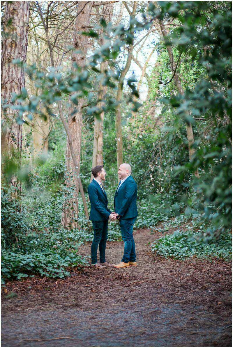 david & kris in the Iveagh Gardens