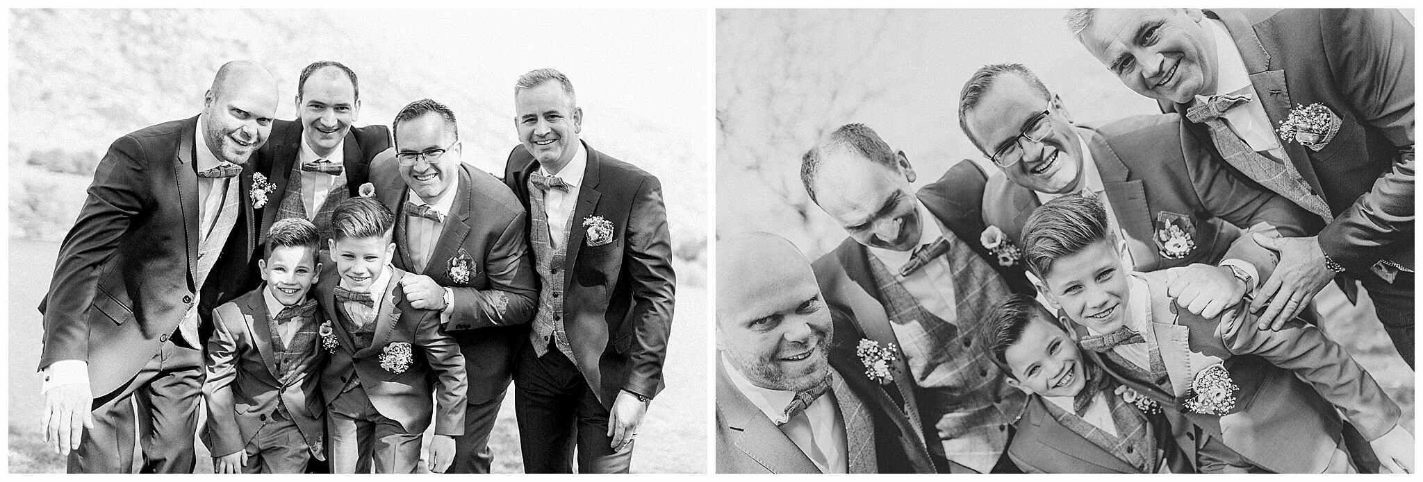 Deirdre + James wedding in Gougane Barra 5