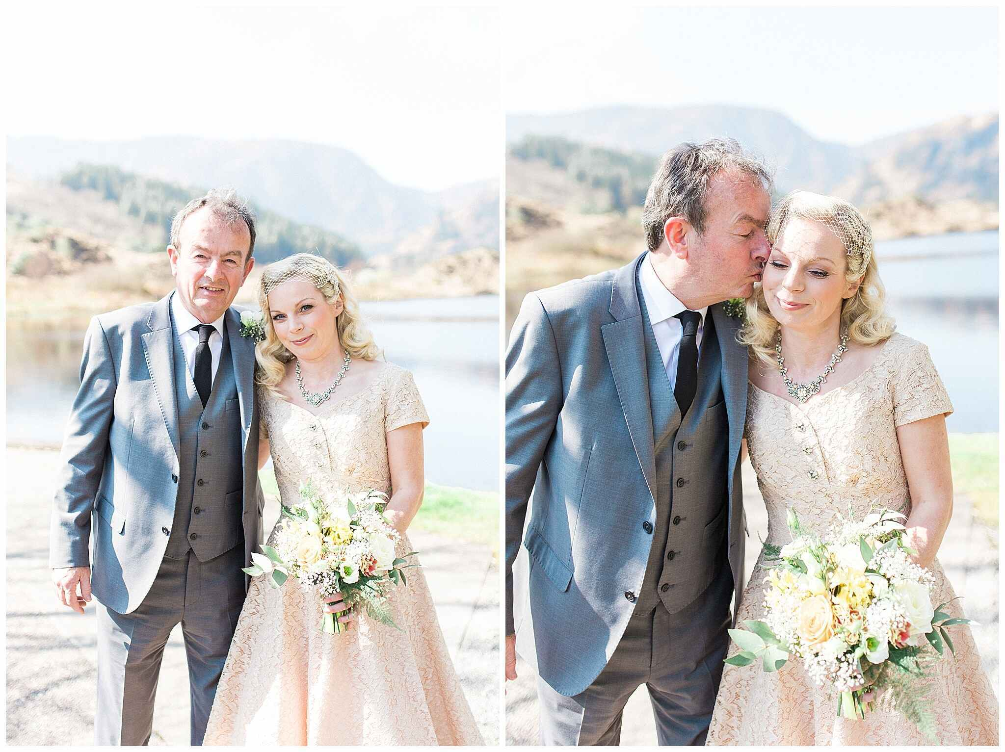 Deirdre + James wedding in Gougane Barra 12