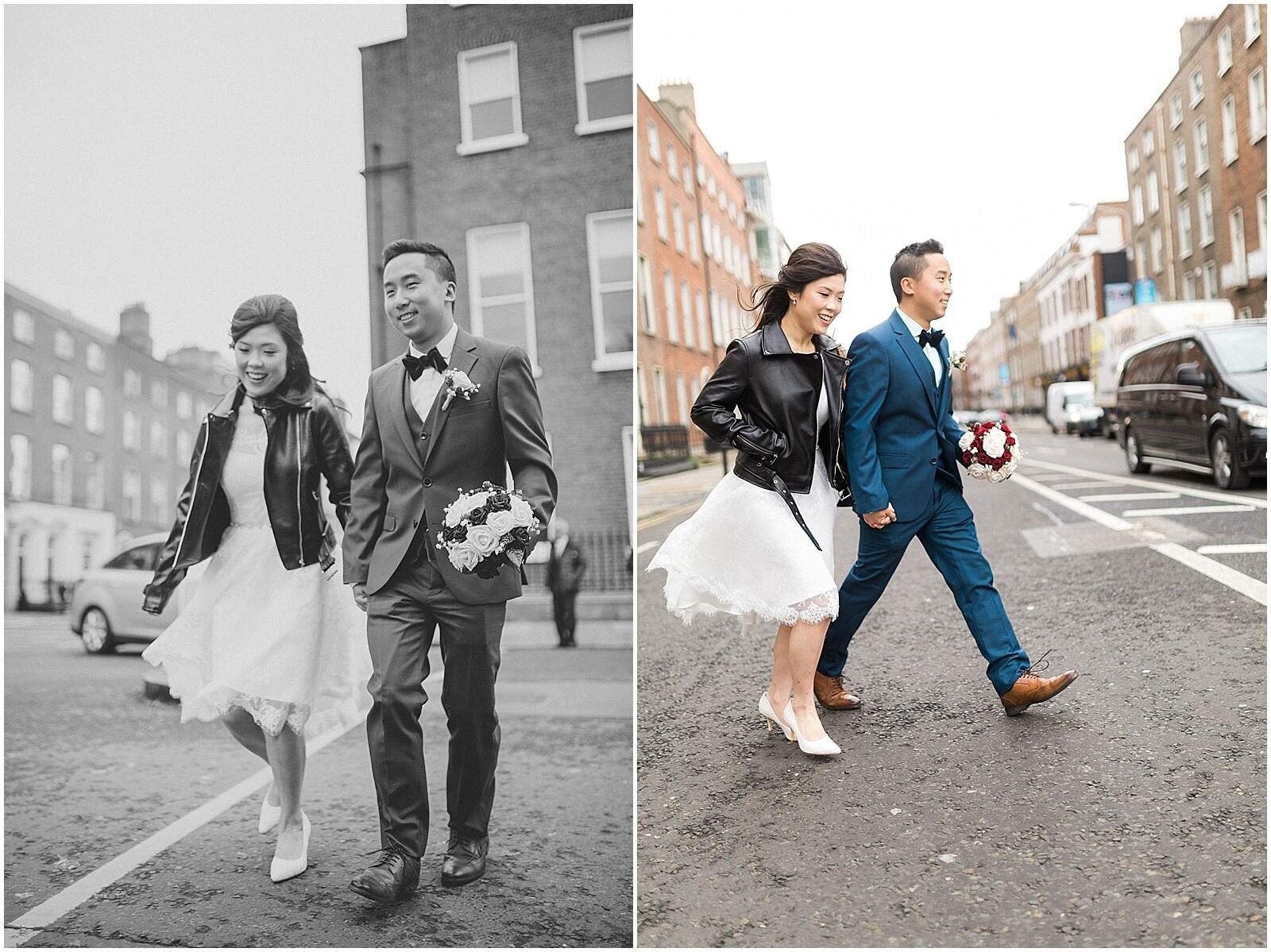 Sandy + Shekman - Elopement in Dublin City 8