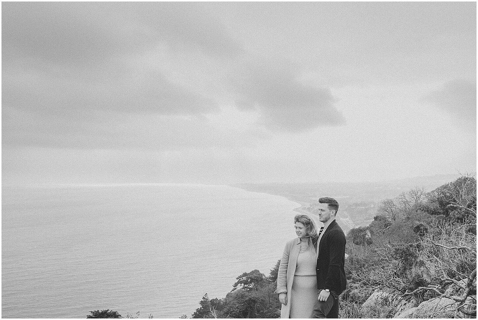 Caragh and Declan went up to Killiney Hill 3