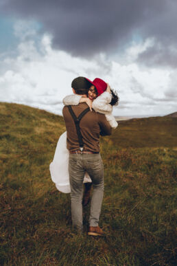 5D3 0364 uai - Fun and Relaxed wedding and elopement photography in Ireland, perfect for adventurous and outdoorsy couples