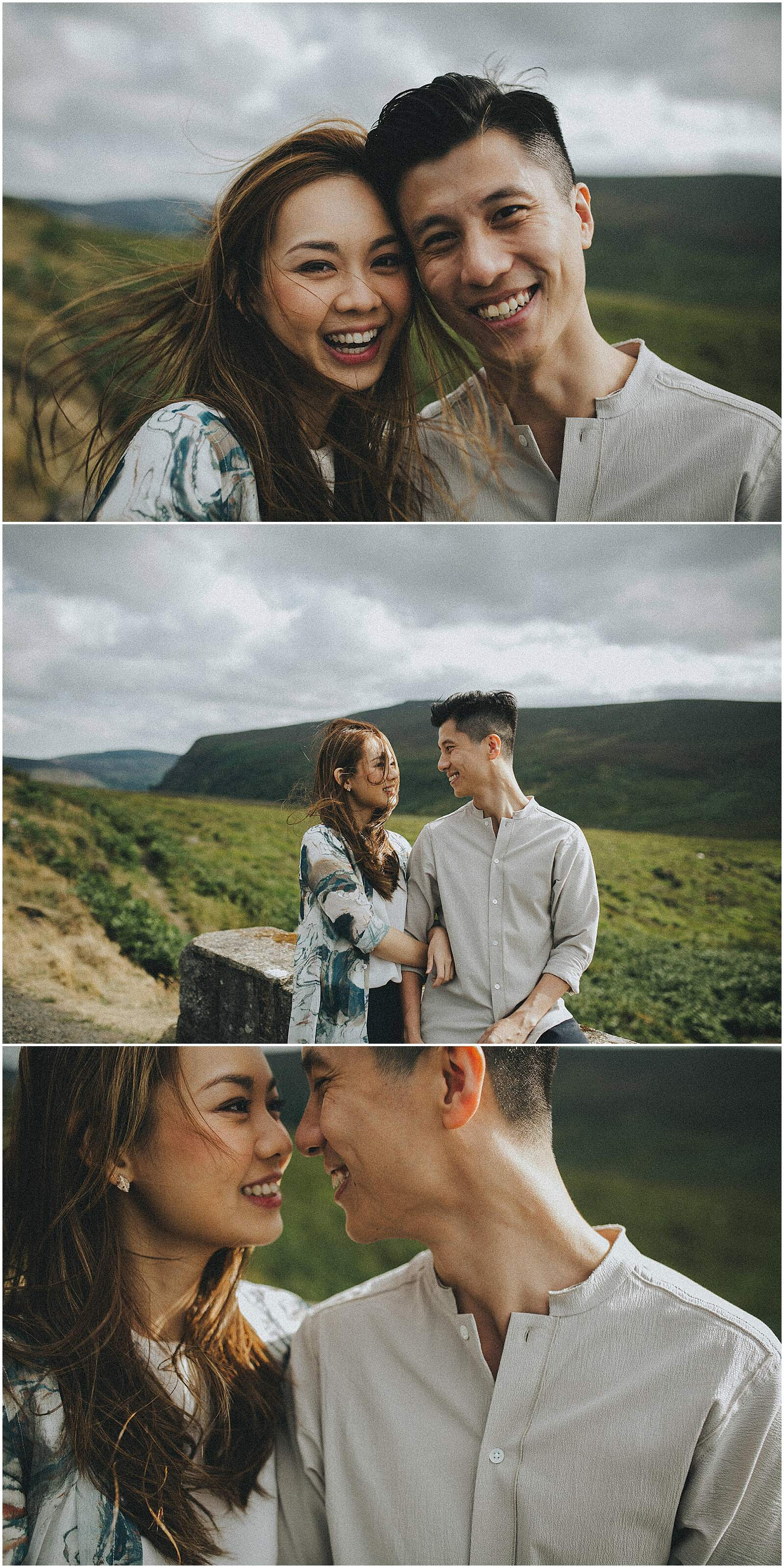 Gloria and Kevin relaxed beautiful natural engagement shoot in wicklow by irish wedding photographer johnny corcoran photography 0282 - Fun and Relaxed wedding and elopement photography in Ireland, perfect for adventurous and outdoorsy couples