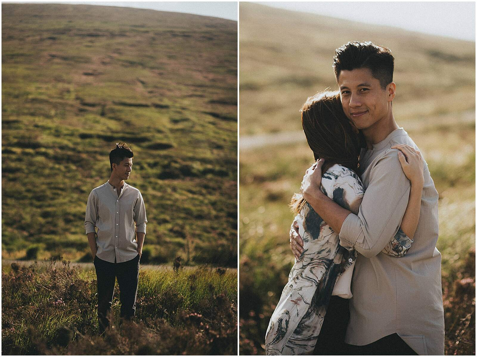 Gloria and Kevin relaxed beautiful natural engagement shoot in wicklow by irish wedding photographer johnny corcoran photography 0297 - Fun and Relaxed wedding and elopement photography in Ireland, perfect for adventurous and outdoorsy couples