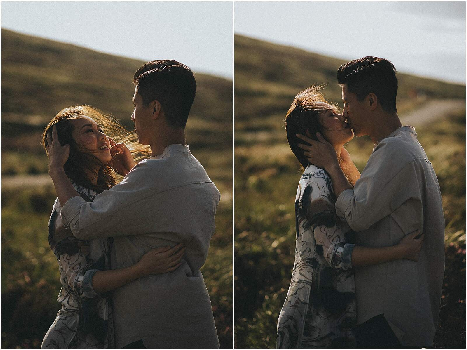 Gloria and Kevin relaxed beautiful natural engagement shoot in wicklow by irish wedding photographer johnny corcoran photography 0300 - Fun and Relaxed wedding and elopement photography in Ireland, perfect for adventurous and outdoorsy couples