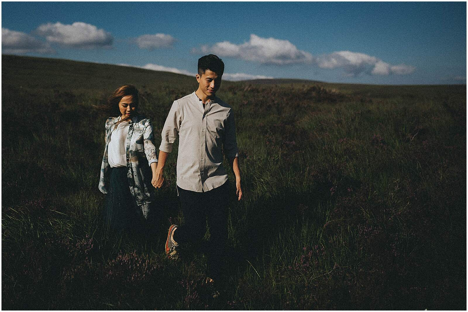 Gloria and Kevin relaxed beautiful natural engagement shoot in wicklow by irish wedding photographer johnny corcoran photography 0301 - Fun and Relaxed wedding and elopement photography in Ireland, perfect for adventurous and outdoorsy couples