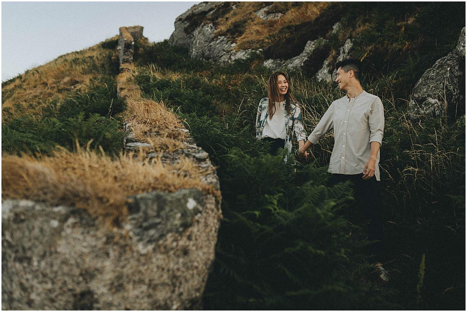 Gloria and Kevin relaxed beautiful natural engagement shoot in wicklow by irish wedding photographer johnny corcoran photography 0312 - Fun and Relaxed wedding and elopement photography in Ireland, perfect for adventurous and outdoorsy couples