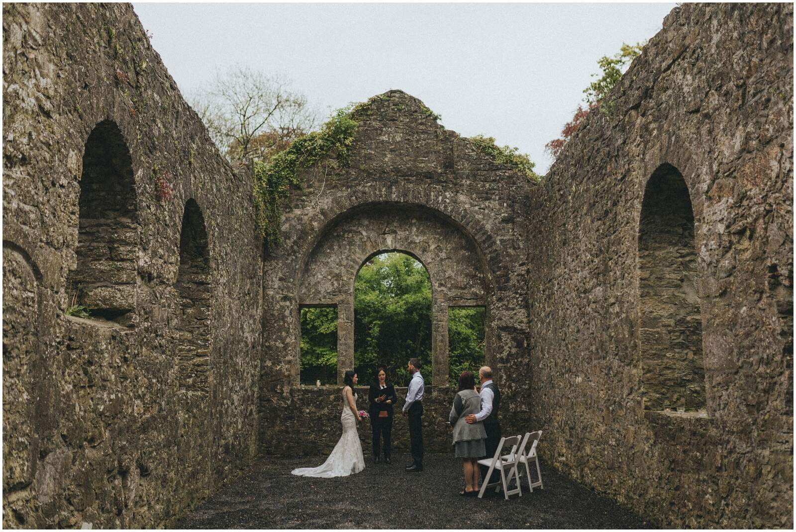 Julia & Donovan - Elopements in Loughcrew Lodge 5
