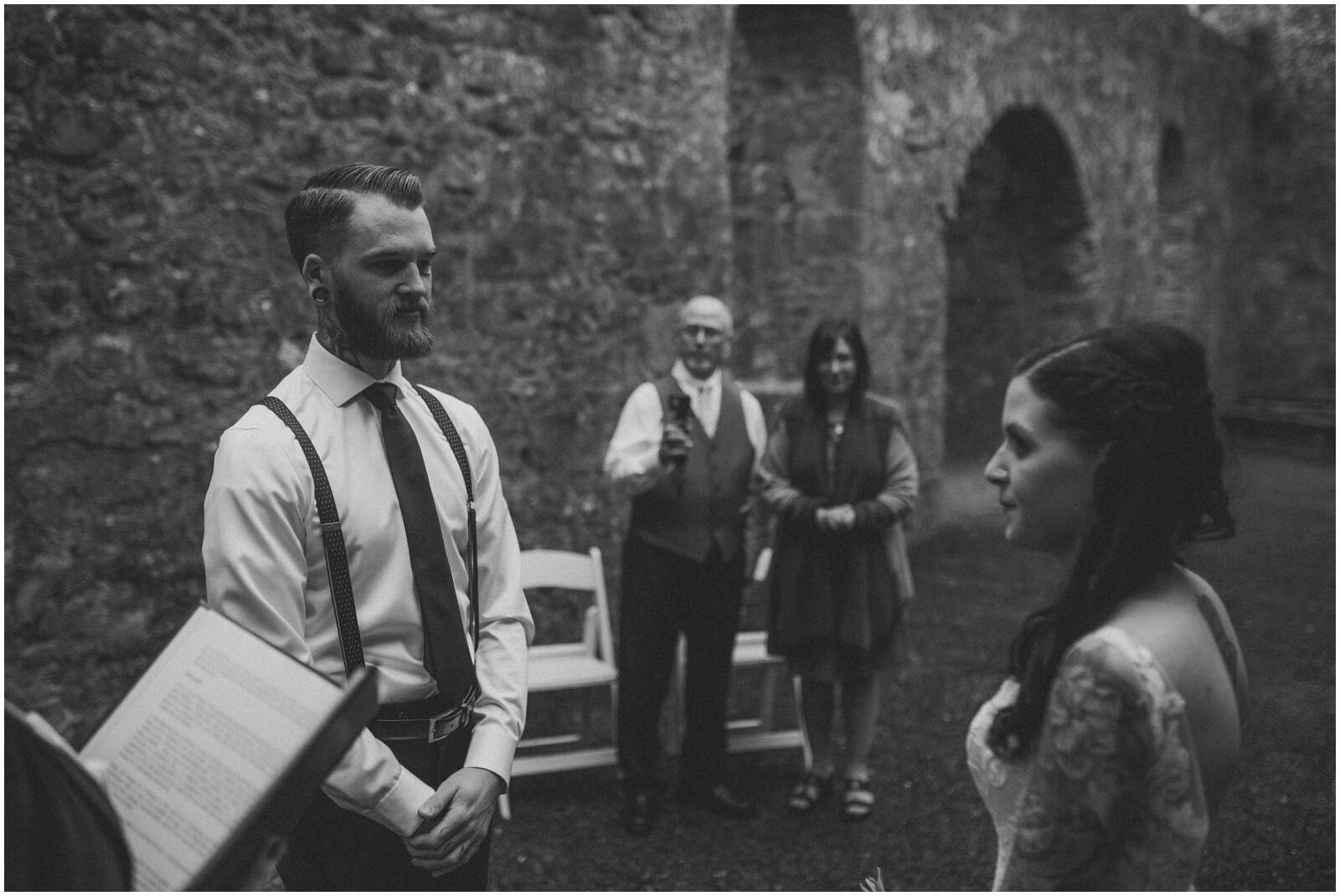 Julia & Donovan - Elopements in Loughcrew Lodge 6