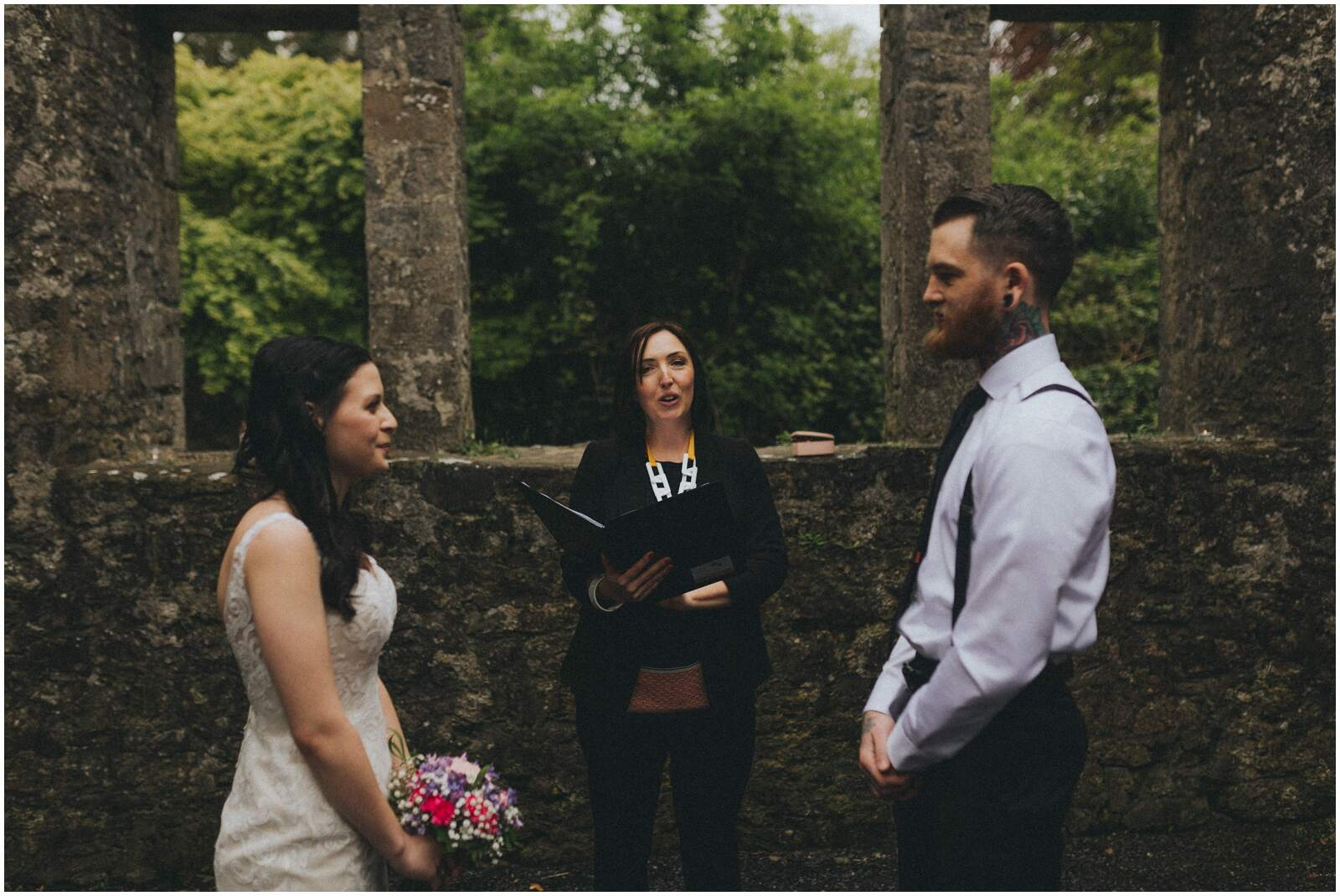 Julia & Donovan - Elopements in Loughcrew Lodge 7