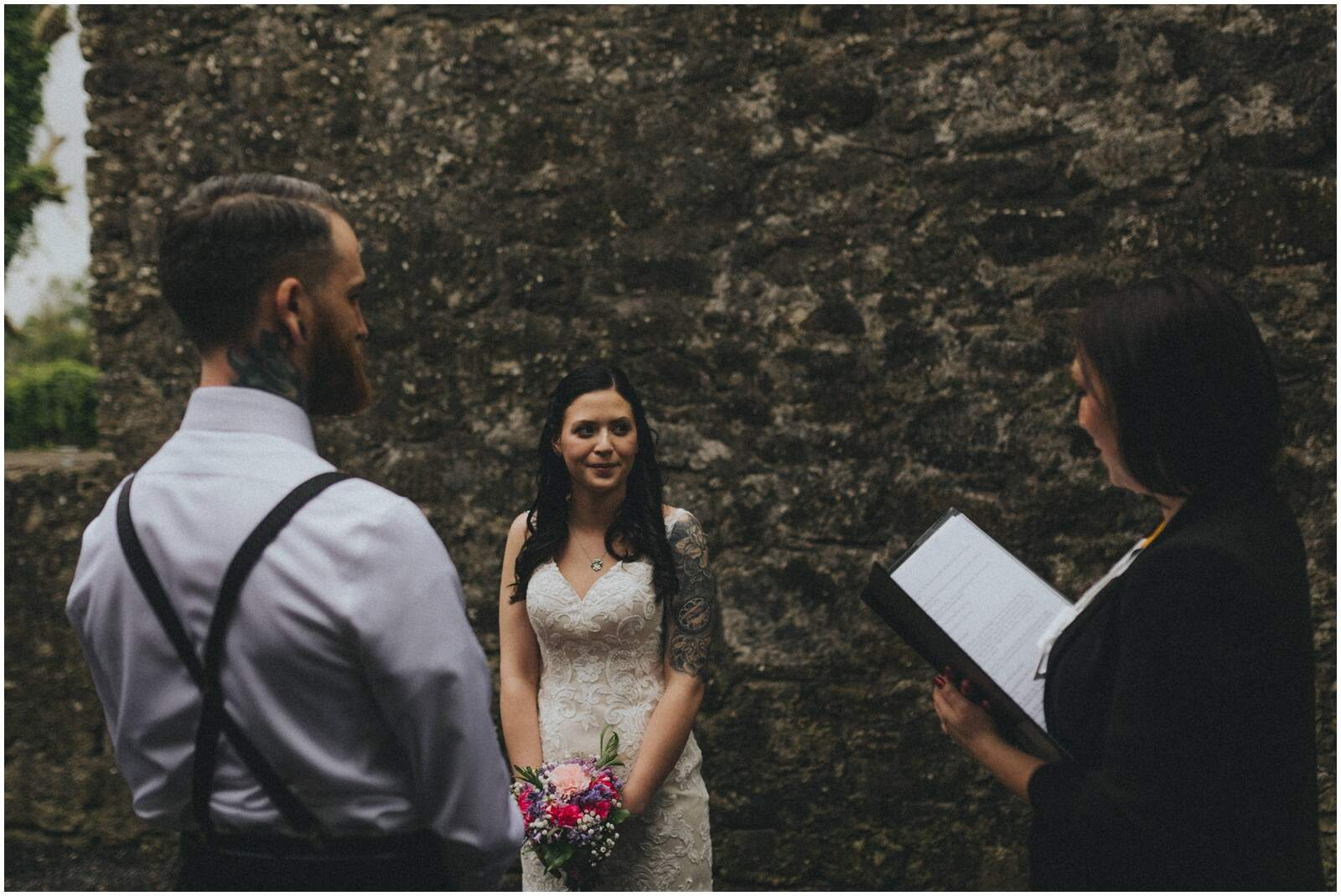 Julia & Donovan - Elopements in Loughcrew Lodge 8