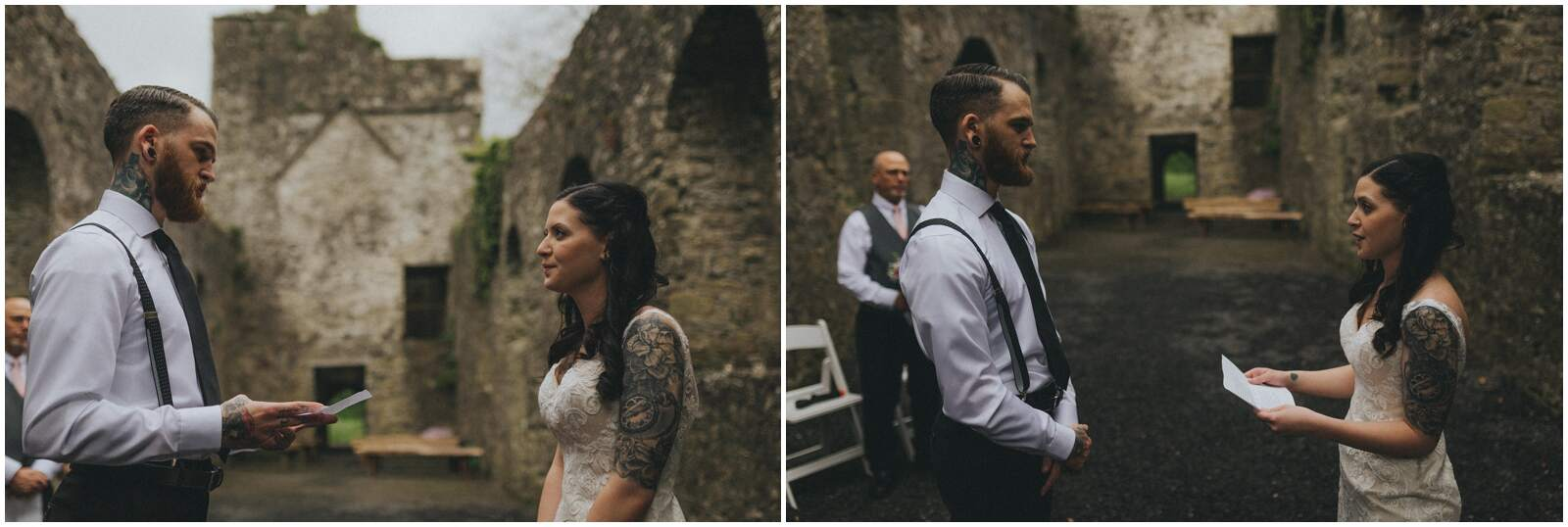Julia & Donovan - Elopements in Loughcrew Lodge 9