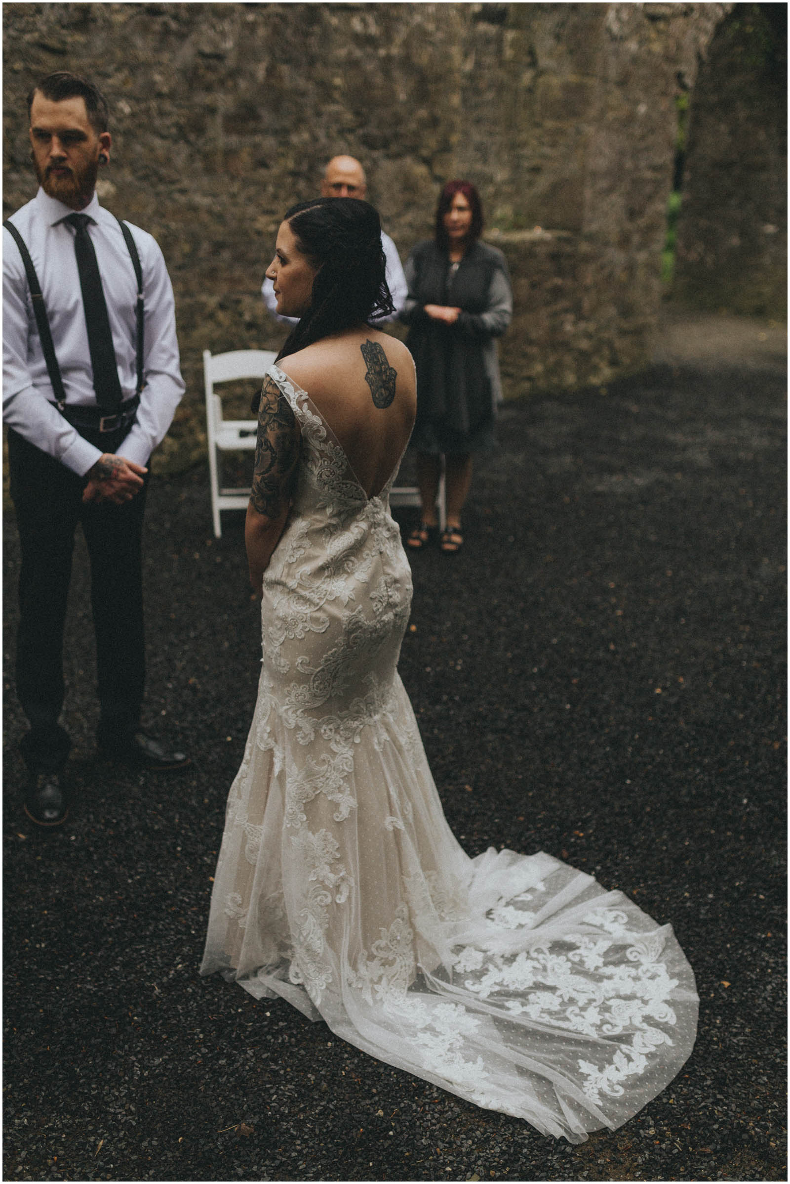 Julia & Donovan - Elopements in Loughcrew Lodge 10