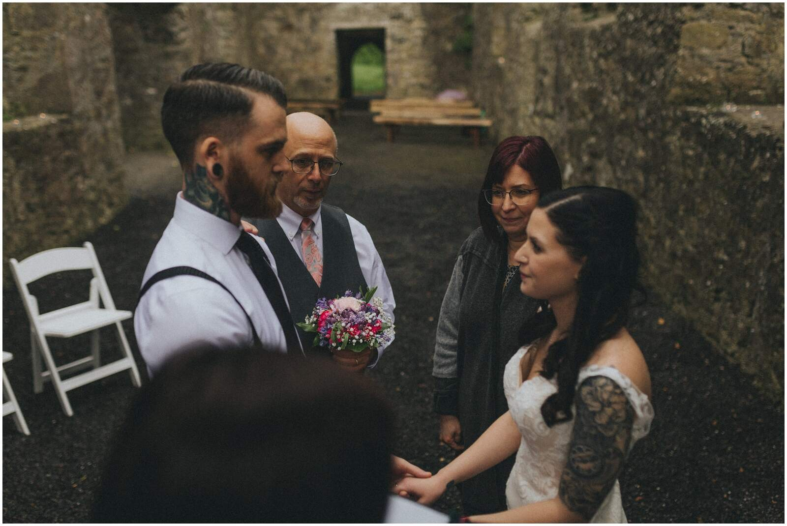 Julia & Donovan - Elopements in Loughcrew Lodge 14