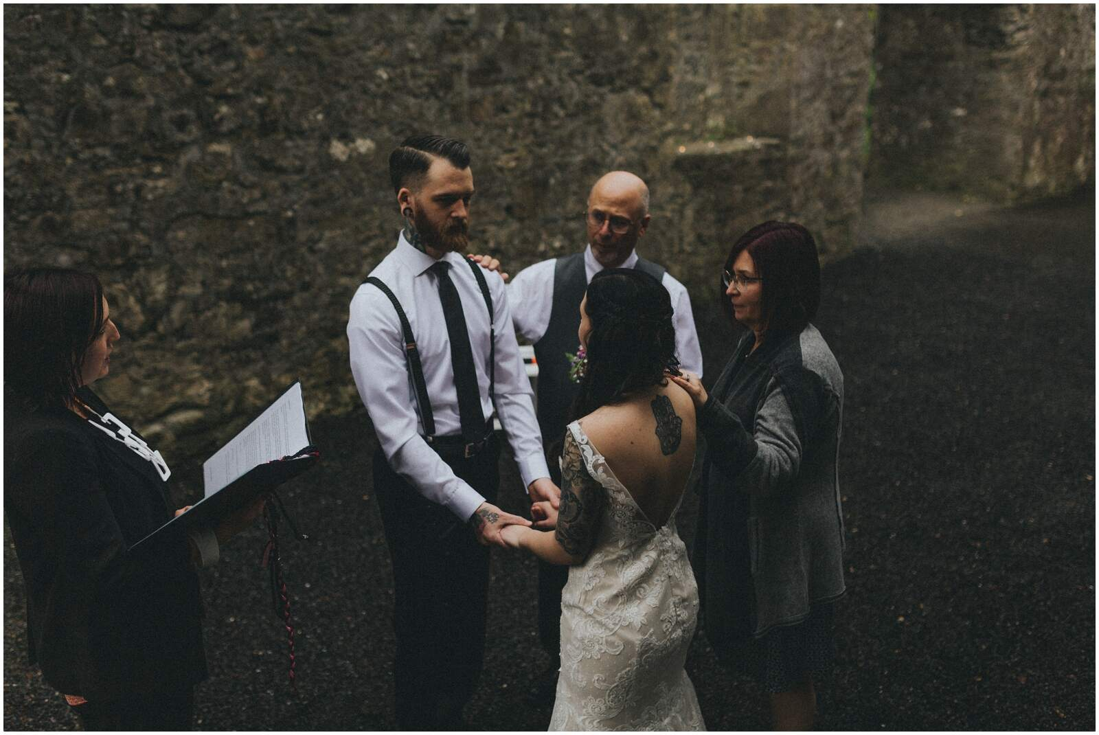Julia & Donovan - Elopements in Loughcrew Lodge 15