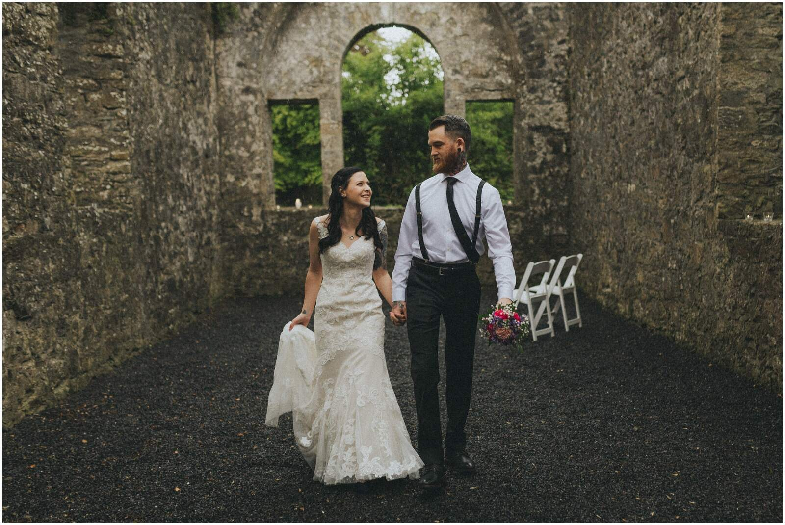 Julia & Donovan - Elopements in Loughcrew Lodge 21
