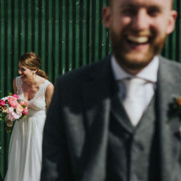 Fun wedding at Cloughjordan house wedding Ireland