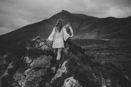 Kerry Hiking pre-wedding in Ireland