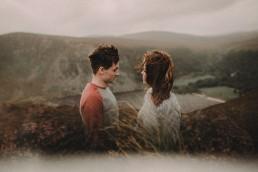 Lough Tay Wicklow Pre-wedding in Ireland