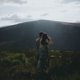Lough Tay Wicklow Pre-wedding in Ireland