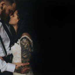Loughcrew Lodge Elopement wedding in Ireland tattoo