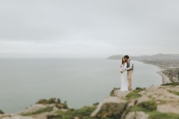 killiney hill pre wedding uai - Fun and Relaxed wedding and elopement photography in Ireland, perfect for adventurous and outdoorsy couples