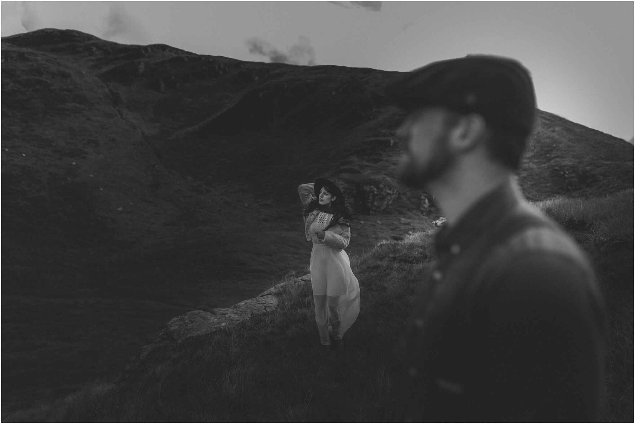 Rachel + David - Hiking Elopement in Muckish Mountain and Poisoned Glen, Donegal 4