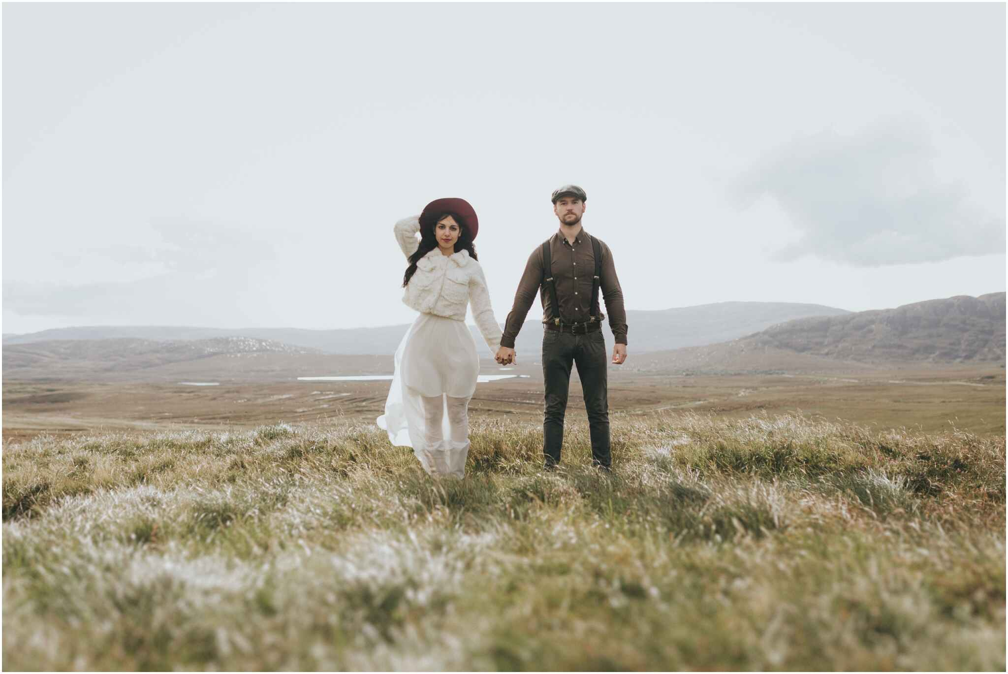 Rachel + David - Hiking Elopement in Muckish Mountain and Poisoned Glen, Donegal 8