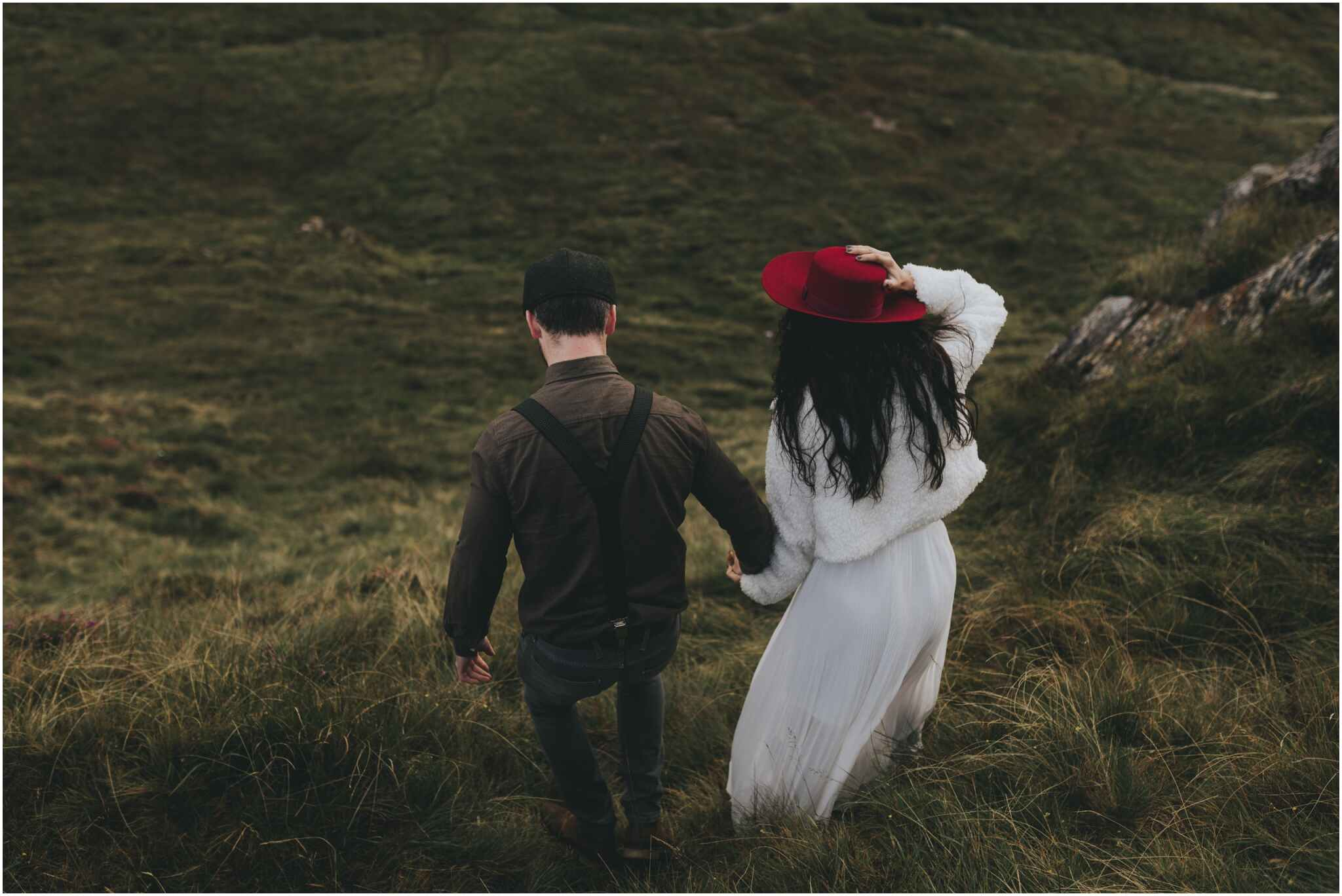 Rachel + David - Hiking Elopement in Muckish Mountain and Poisoned Glen, Donegal 16