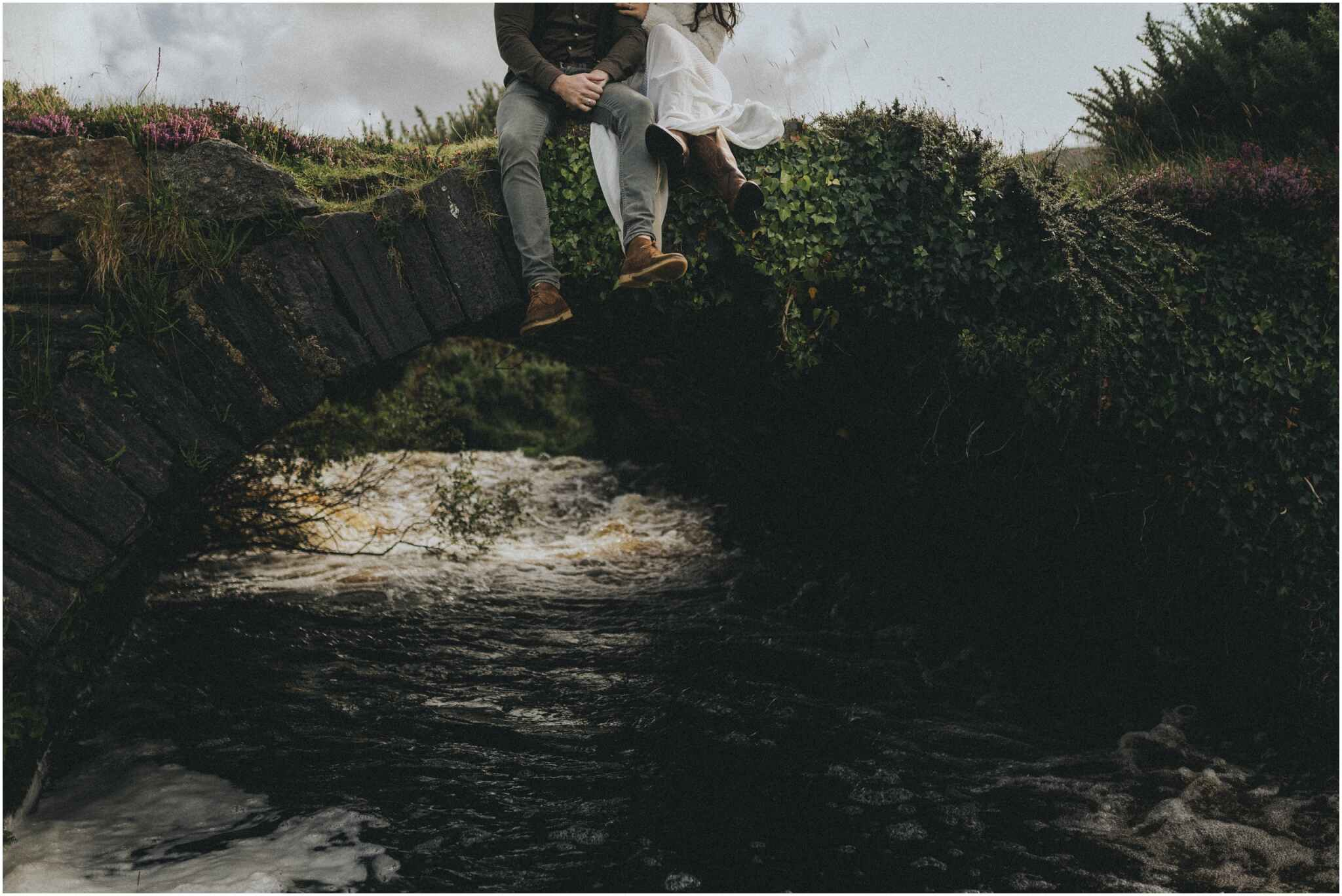 Rachel + David - Hiking Elopement in Muckish Mountain and Poisoned Glen, Donegal 24