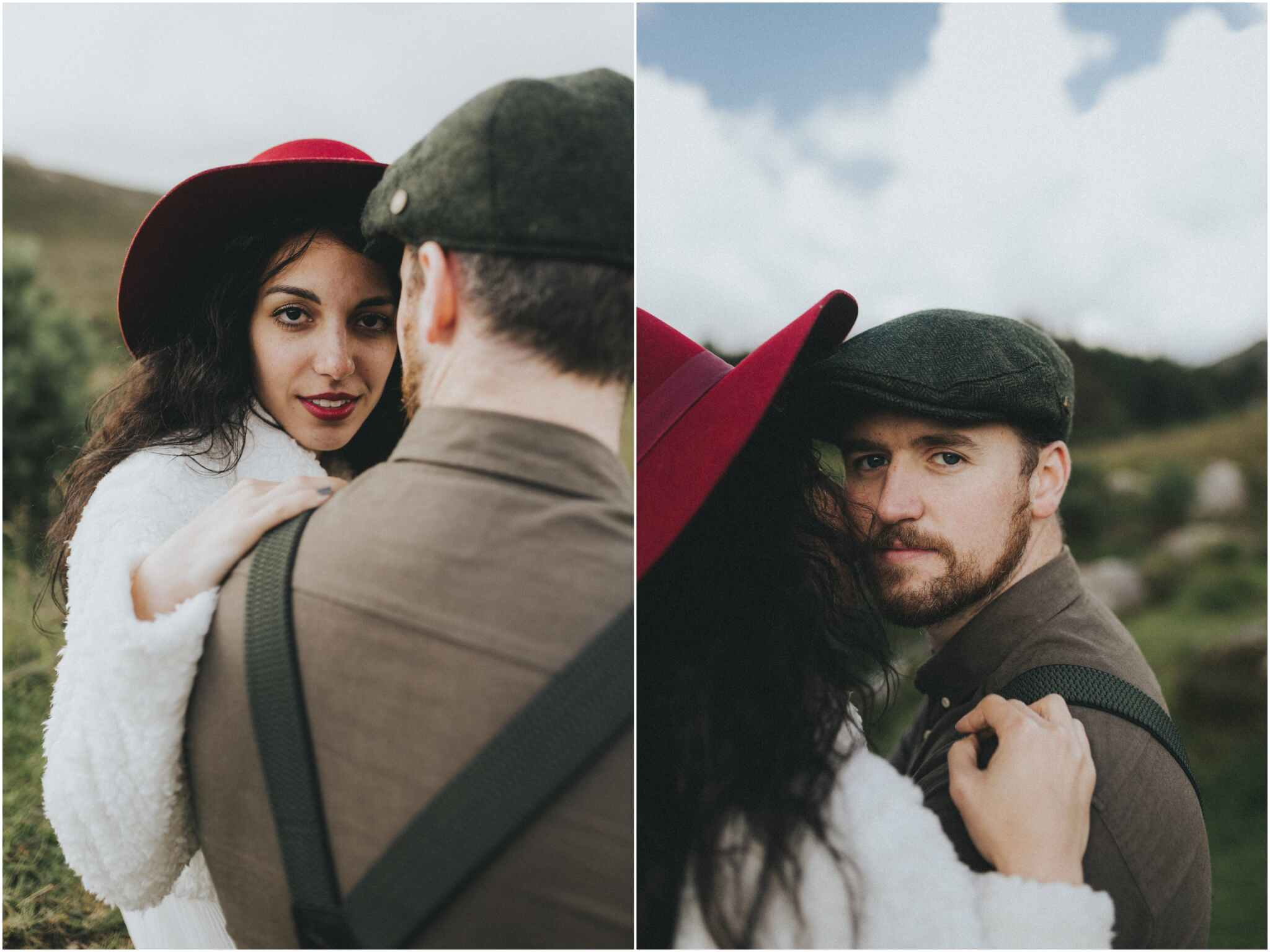 Rachel + David - Hiking Elopement in Muckish Mountain and Poisoned Glen, Donegal 27