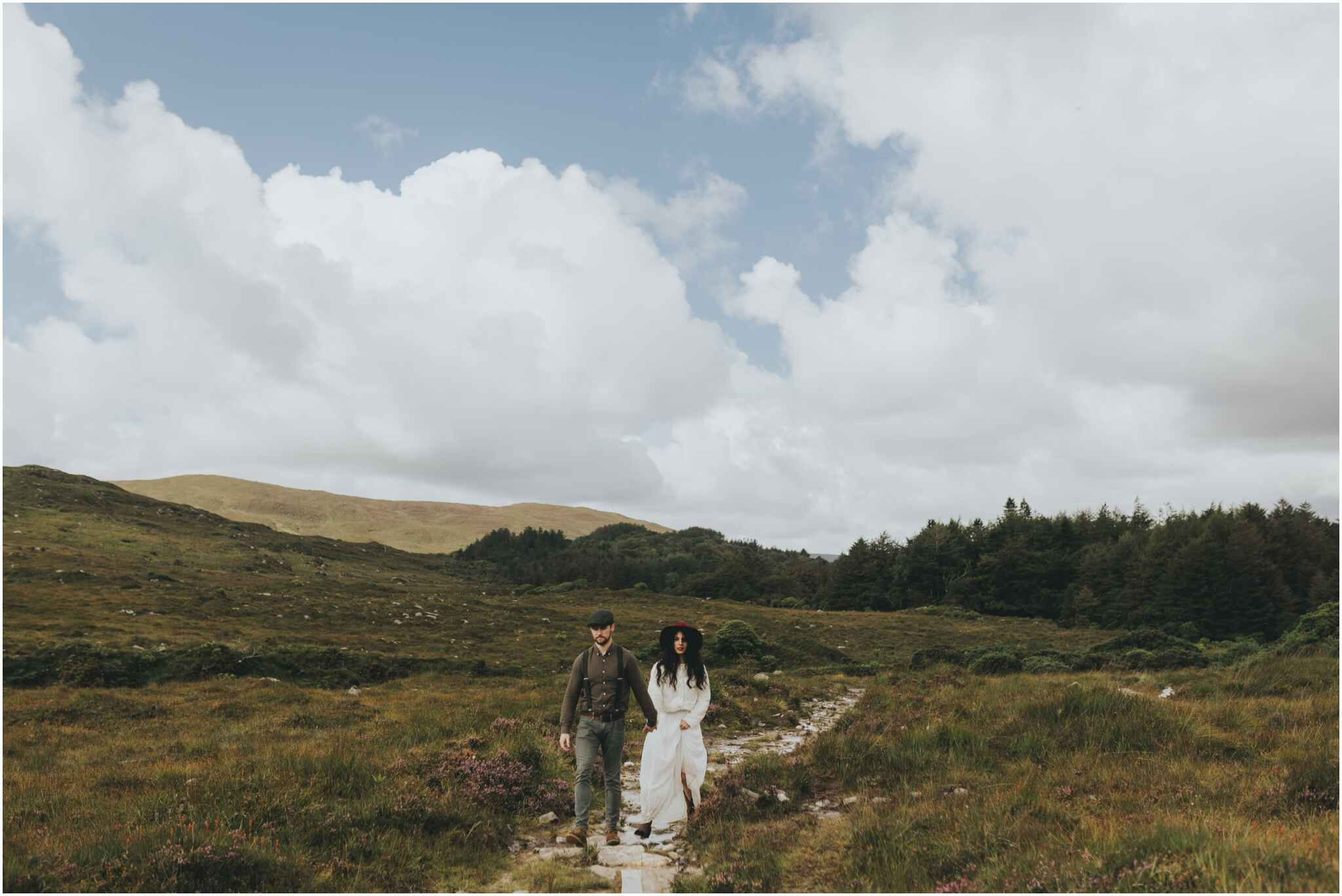Rachel + David - Hiking Elopement in Muckish Mountain and Poisoned Glen, Donegal 28