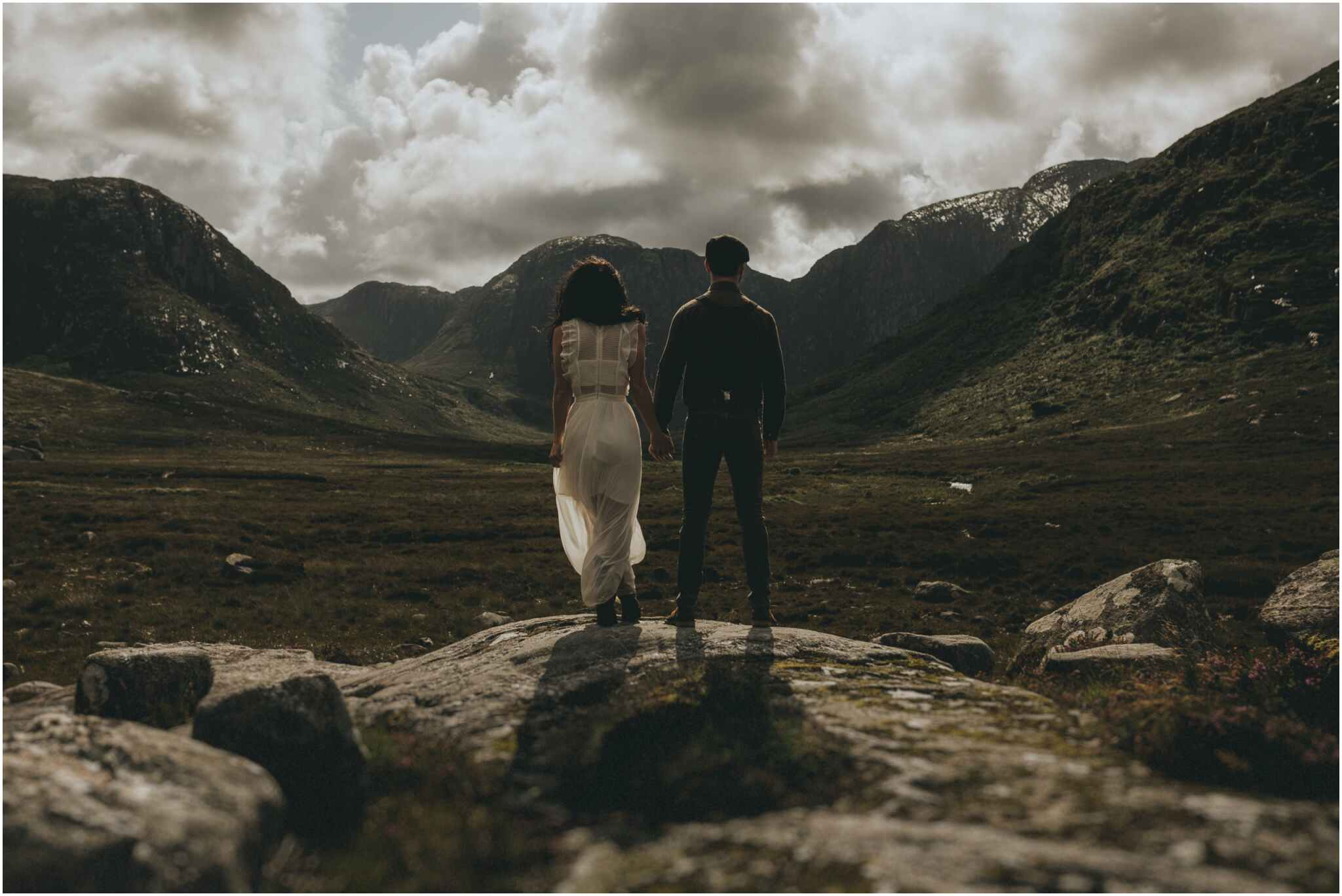Rachel + David - Hiking Elopement in Muckish Mountain and Poisoned Glen, Donegal 31