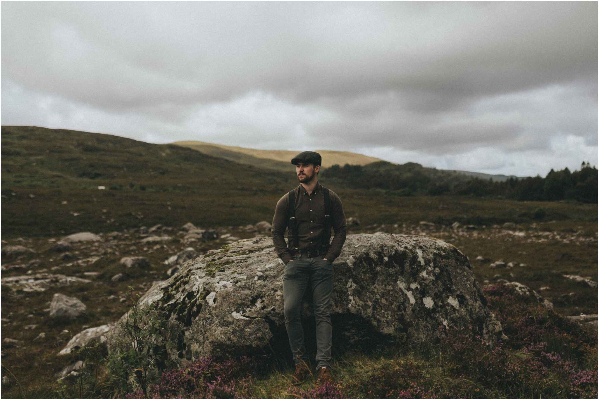 Rachel + David - Hiking Elopement in Muckish Mountain and Poisoned Glen, Donegal 38