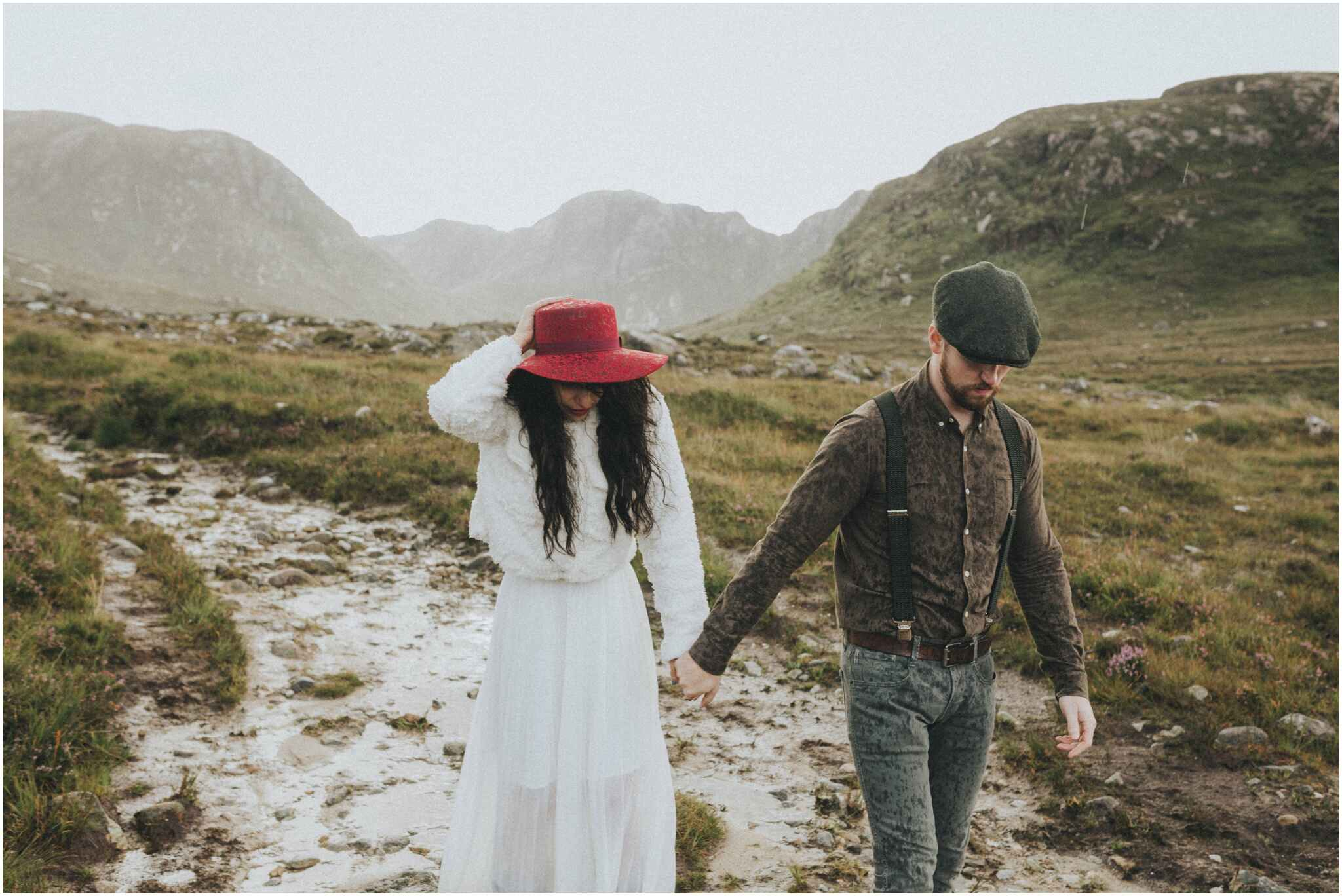 Rachel + David - Hiking Elopement in Muckish Mountain and Poisoned Glen, Donegal 41
