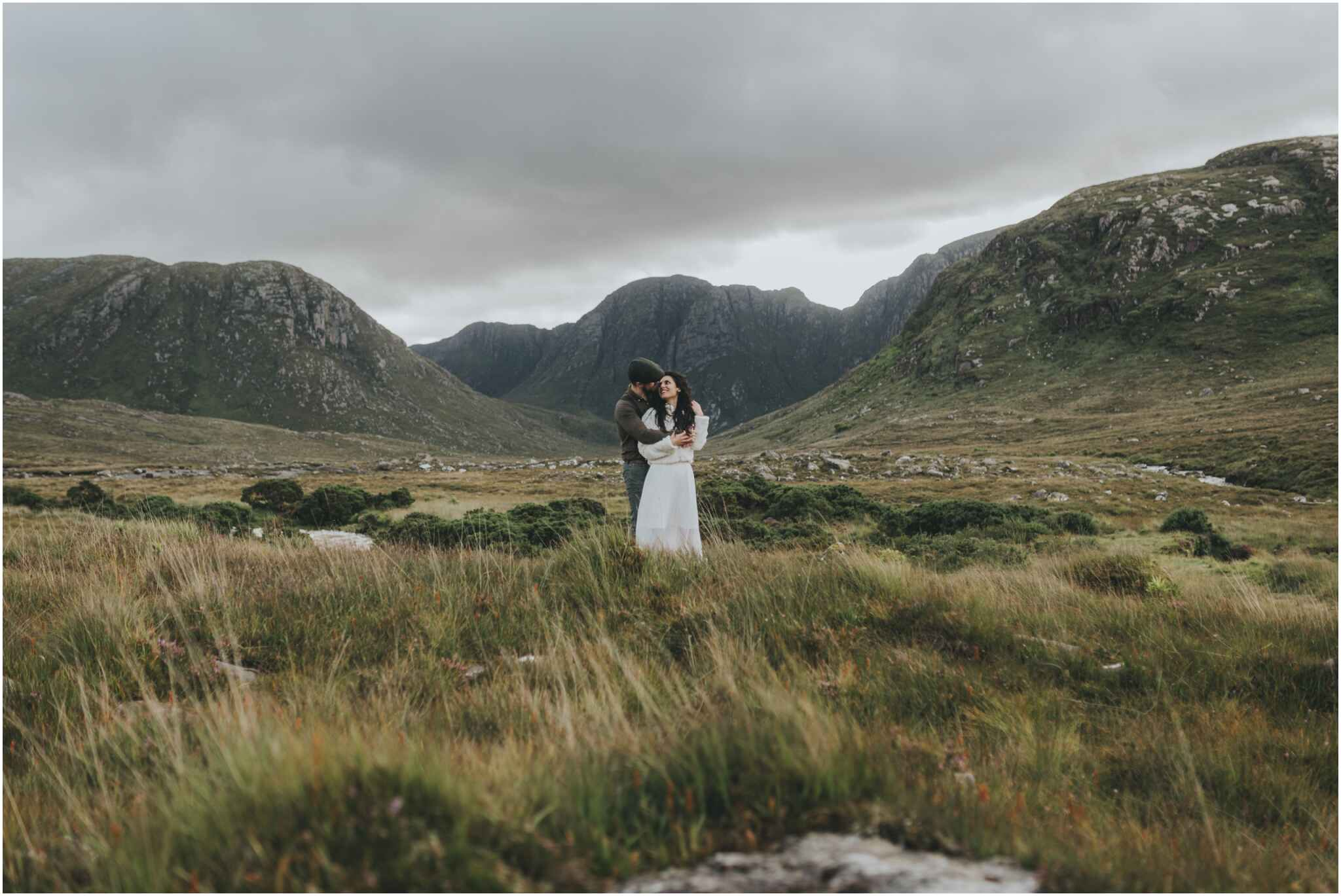 Rachel + David - Hiking Elopement in Muckish Mountain and Poisoned Glen, Donegal 43