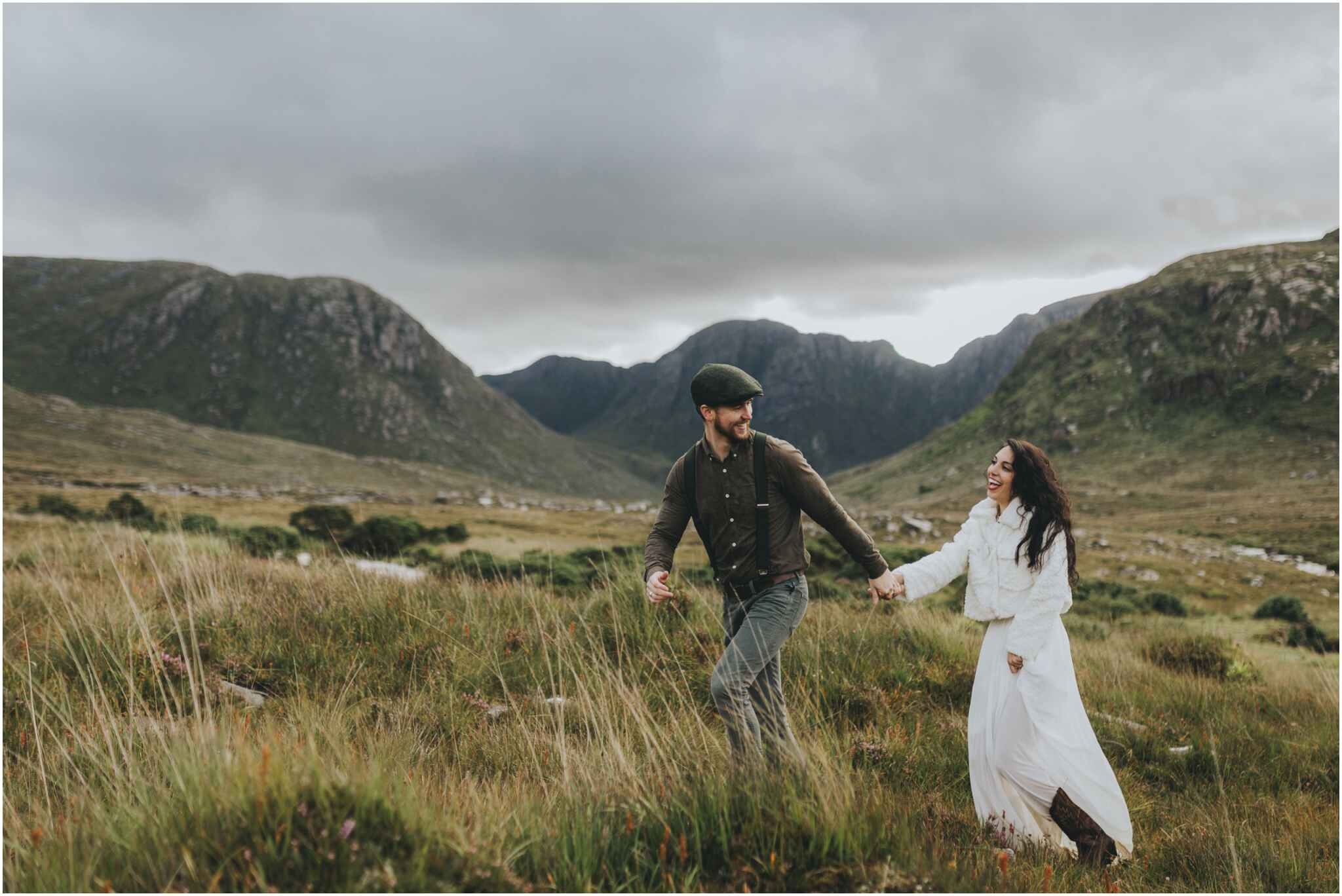 Hiking Elopement in Muckish Mountain and Poisoned Glen, Donegal