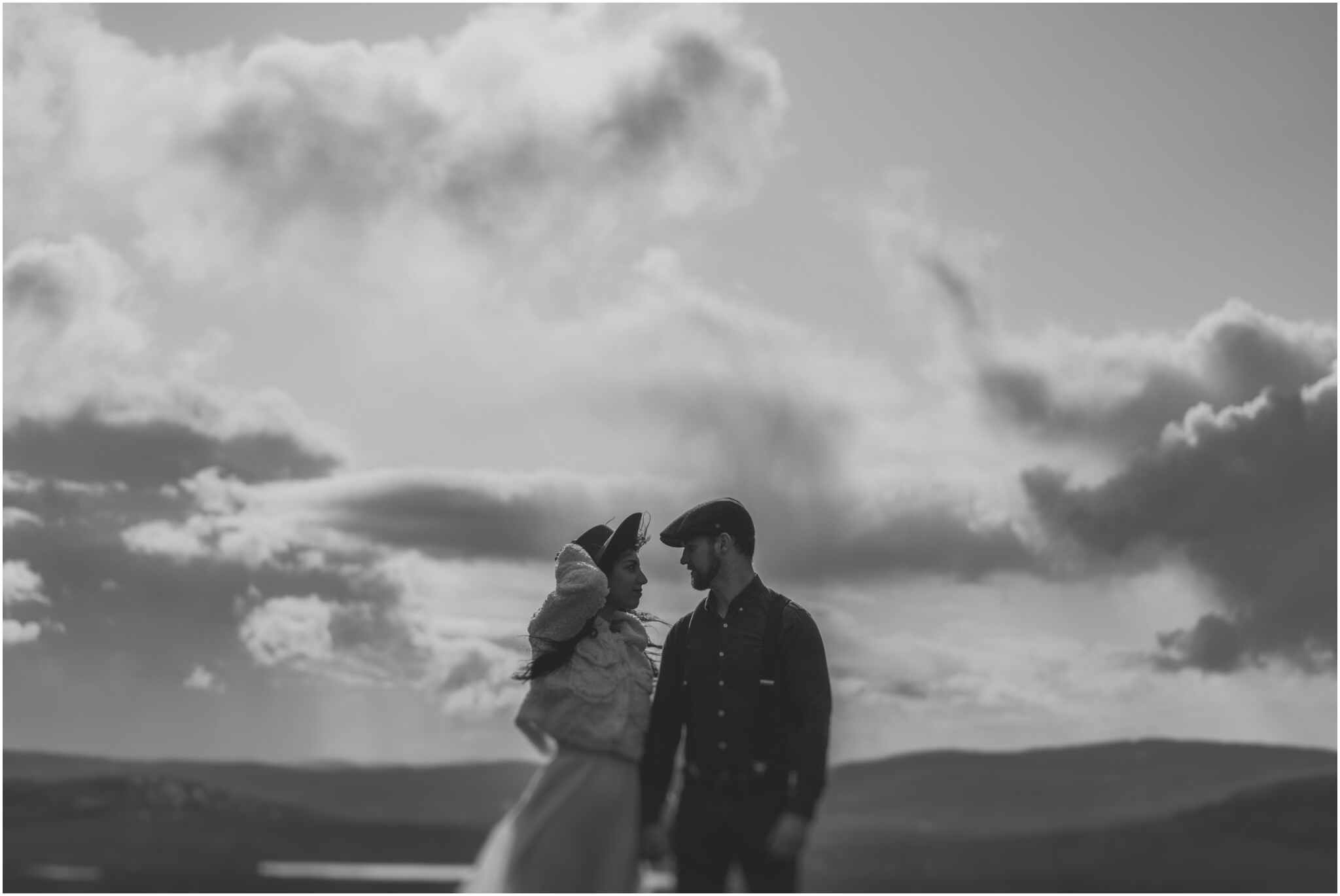 Rachel + David - Hiking Elopement in Muckish Mountain and Poisoned Glen, Donegal 7