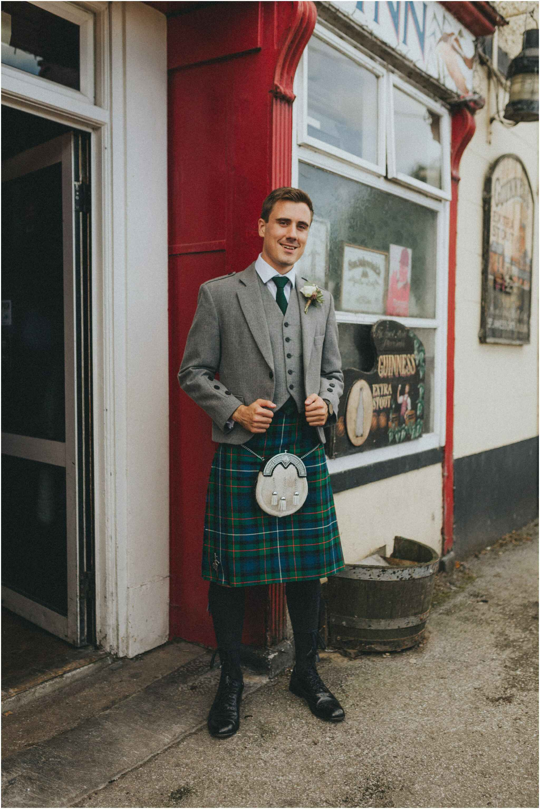 Fionnuala + Paul - Mount Druid Alternative Wedding 35