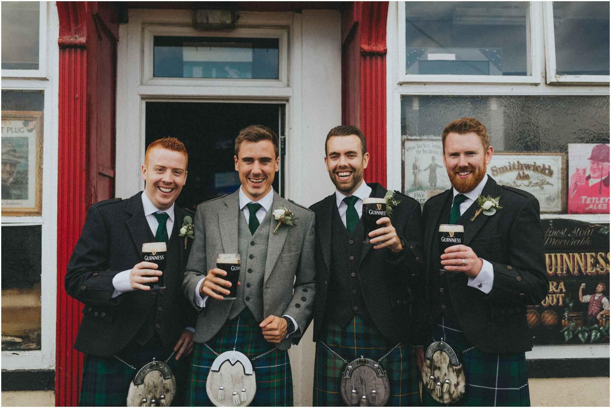 Fionnuala + Paul - Mount Druid Alternative Wedding 36
