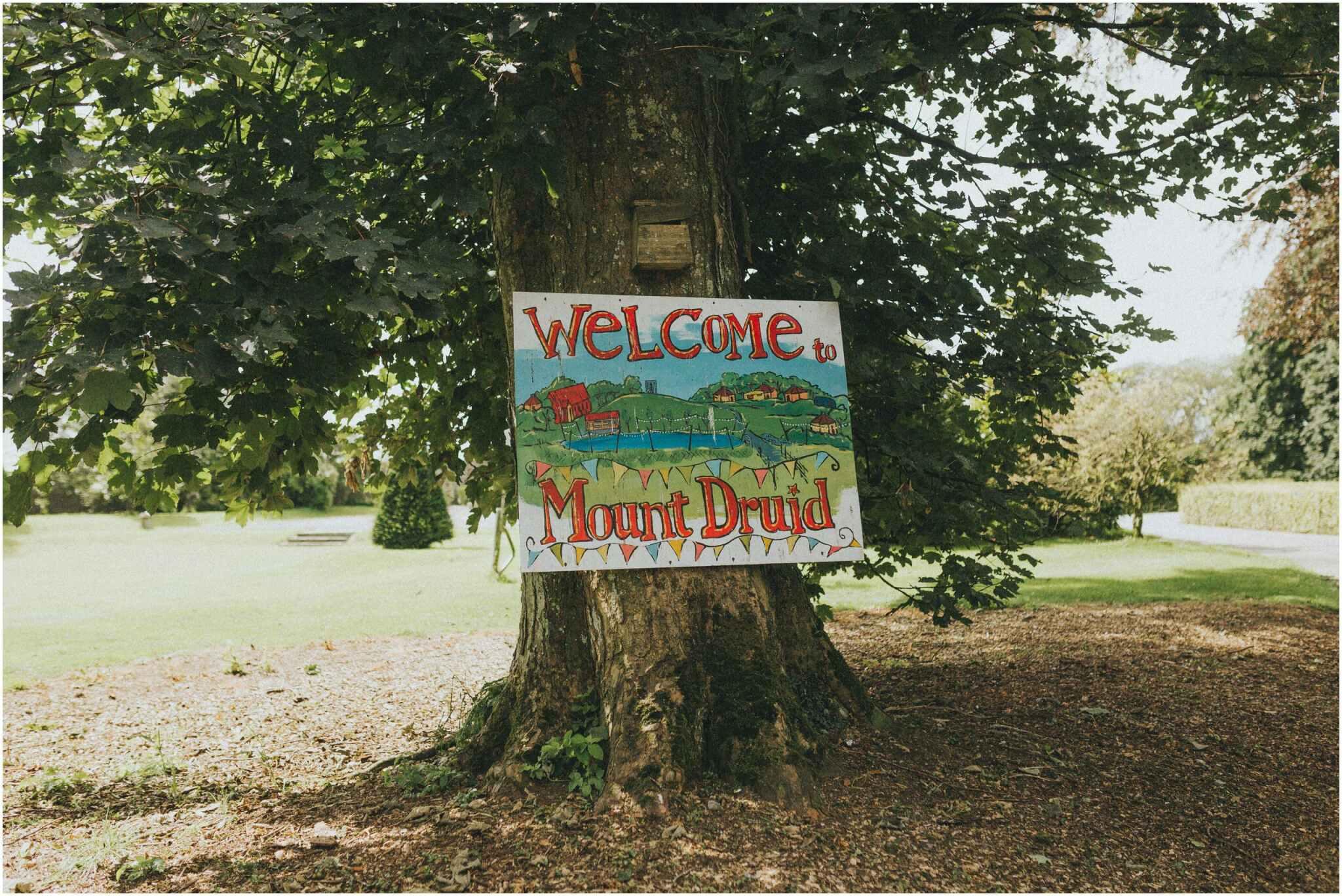 Fionnuala + Paul - Mount Druid Alternative Wedding 1