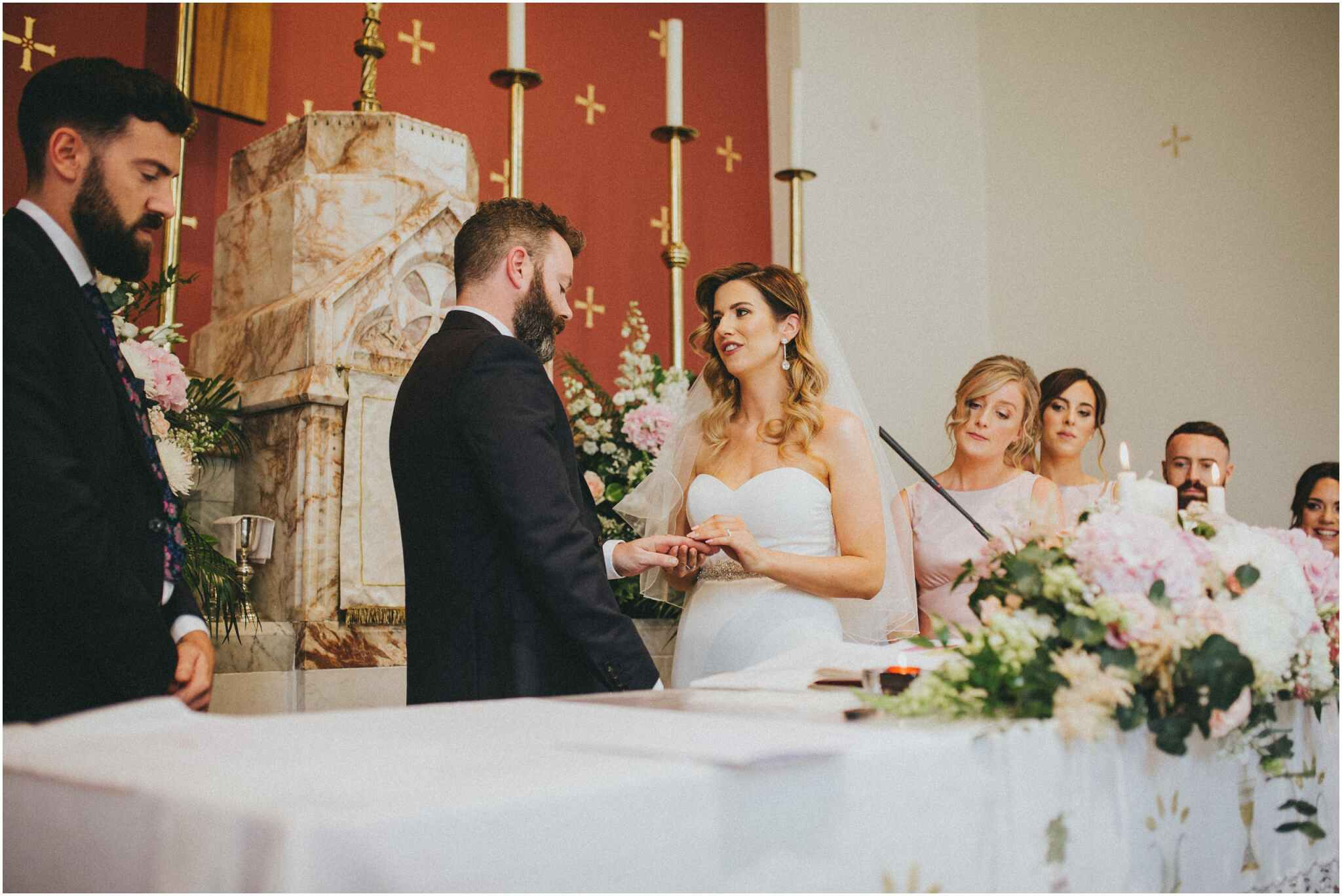 ballymagarvey village wedding 00072 - Fun and Relaxed wedding and elopement photography in Ireland, perfect for adventurous and outdoorsy couples