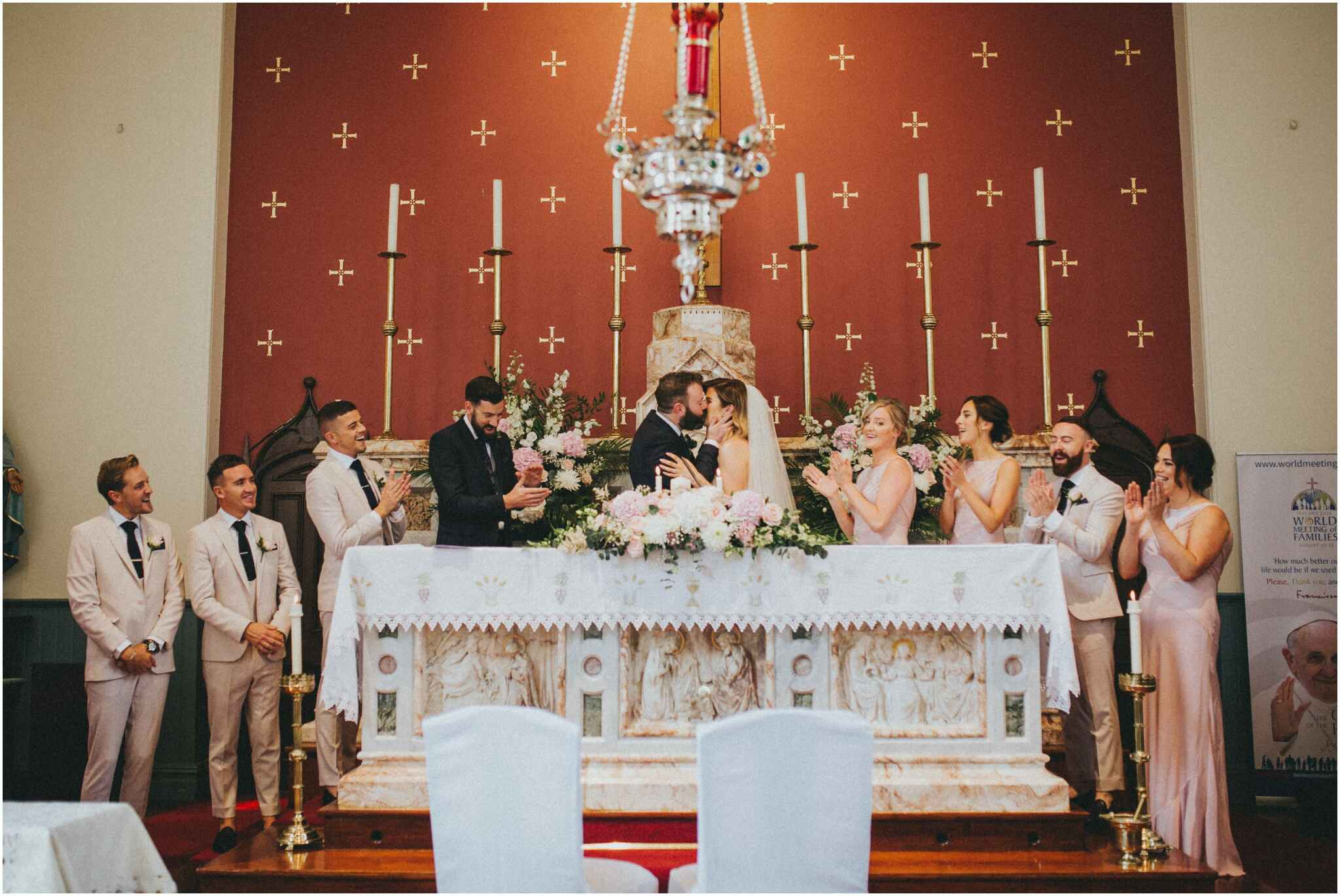 ballymagarvey village wedding 00073 - Fun and Relaxed wedding and elopement photography in Ireland, perfect for adventurous and outdoorsy couples