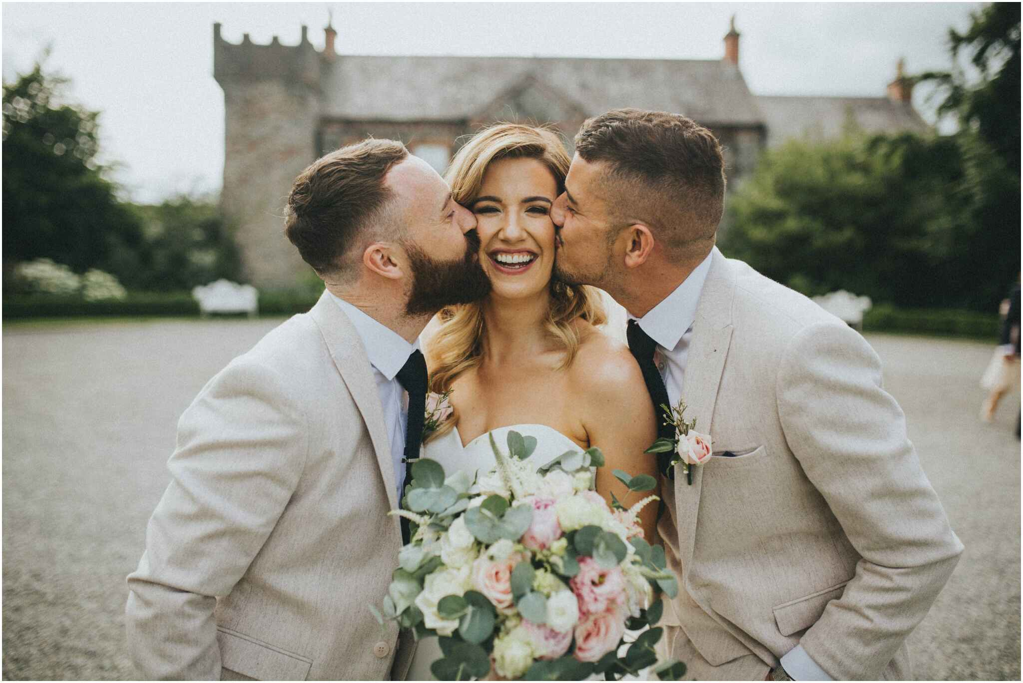 ballymagarvey village wedding 00098 - Fun and Relaxed wedding and elopement photography in Ireland, perfect for adventurous and outdoorsy couples