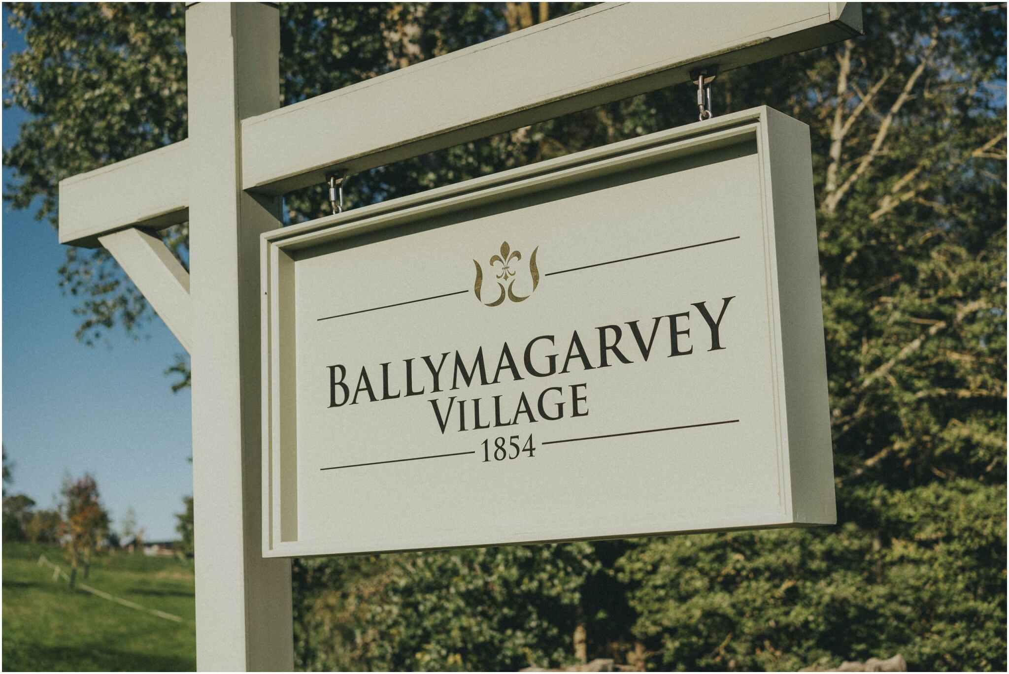Elaine + Michael - Ballymagarvey Villiage 1