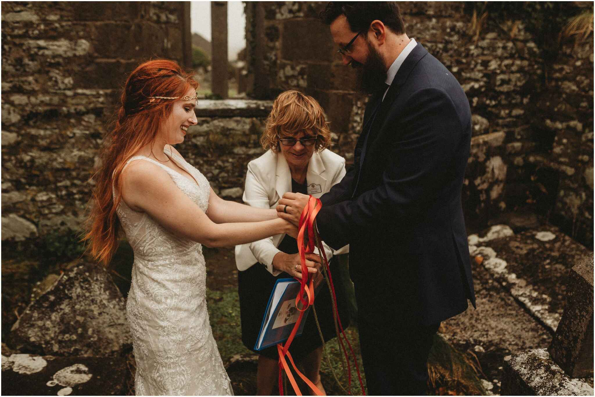 Elope in Ireland with Celtic Hand fasting