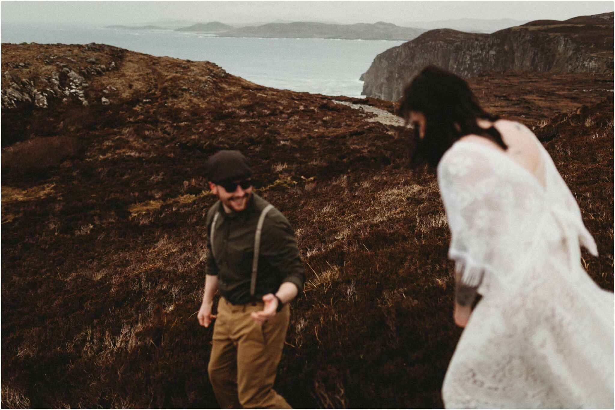 Elopement horn head donegal irish wedding photography 00004 - Fun and Relaxed wedding and elopement photography in Ireland, perfect for adventurous and outdoorsy couples