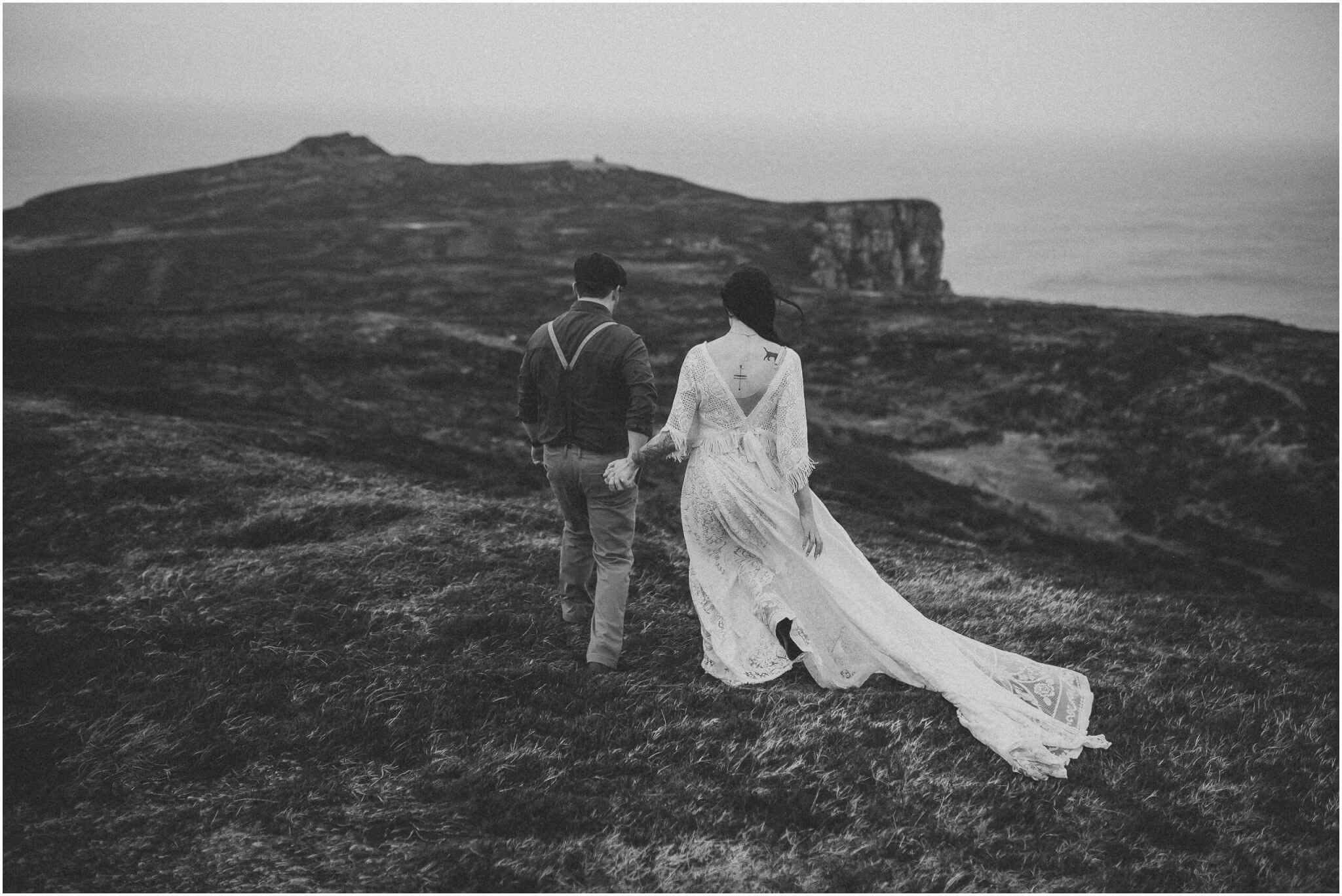 Elopement horn head donegal irish wedding photography 00026 - Fun and Relaxed wedding and elopement photography in Ireland, perfect for adventurous and outdoorsy couples