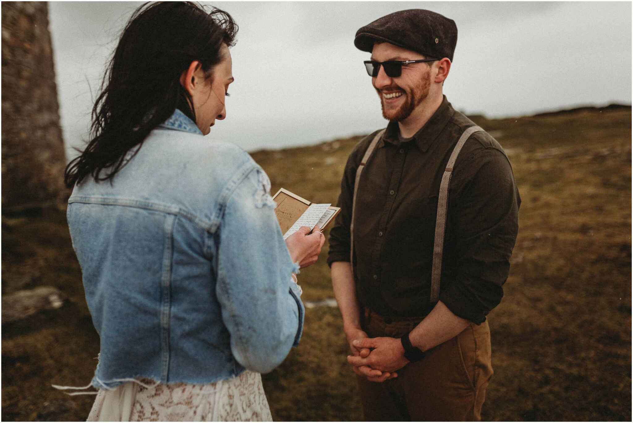 Elopement horn head donegal irish wedding photography 00052 - Fun and Relaxed wedding and elopement photography in Ireland, perfect for adventurous and outdoorsy couples